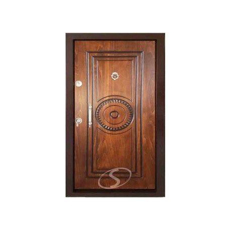 درب ضد سرقت رویه چوب راش